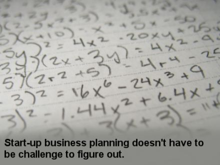Start-up business planning doesn't have to be a challenge to figure out.